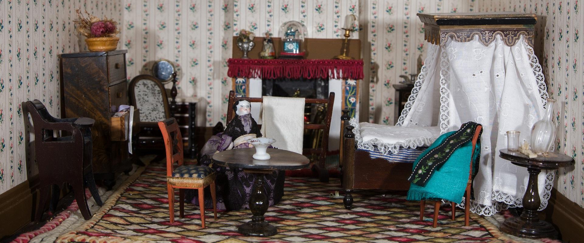Dolls House Bedroom interior