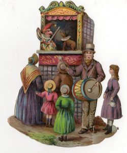 Image of the Punch and Judy Toby