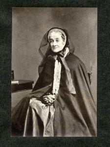 Carte-de-visite of Mary Lediard