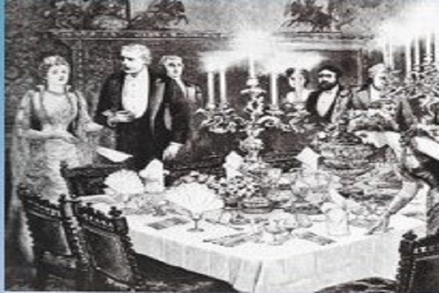 Victorian Wining and Dining