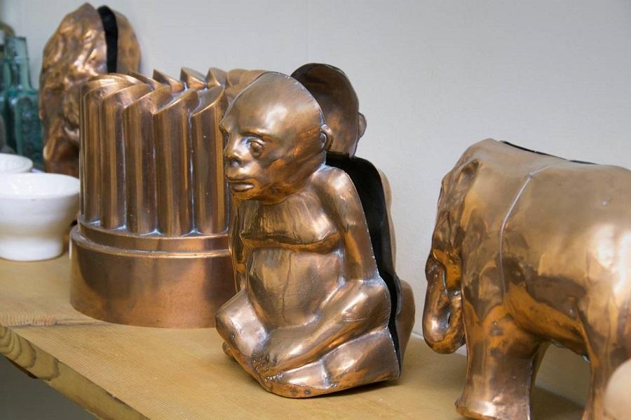 Monkey- copper mould